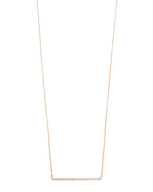 Gabriela Artigas | Metallic Bar Diamond Necklace | Lyst