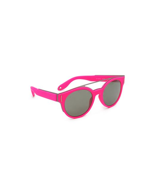 ce4a471d13b47 Givenchy Rubber Star Aviator Sunglasses