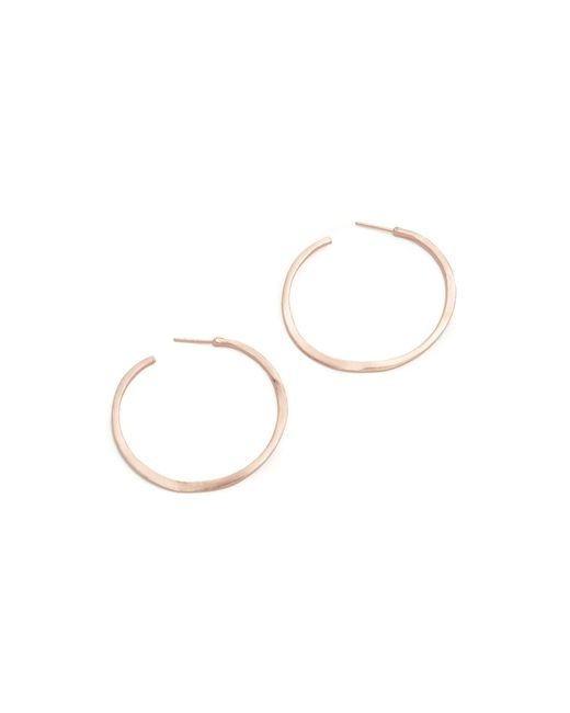 Gorjana | Pink Arc Hoop Earrings | Lyst