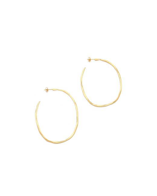 Gorjana | Metallic Laurel Large Hoop Earrings | Lyst