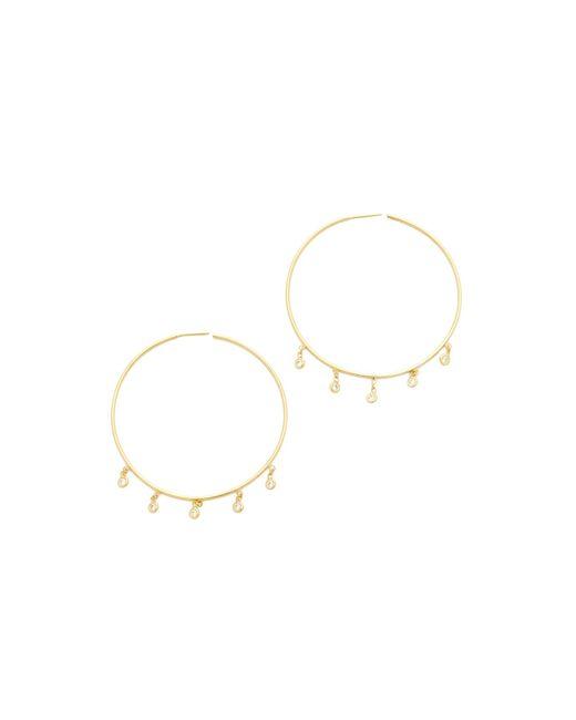 Jacquie Aiche | Metallic Shaker Hoop Earrings | Lyst