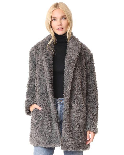 Joie | Gray Kavasia Coat | Lyst