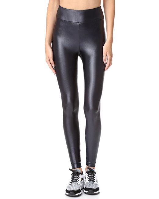 Koral Activewear   Black Lustrous High Rise Leggings   Lyst