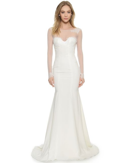 Katie May   White Verona Gown   Lyst