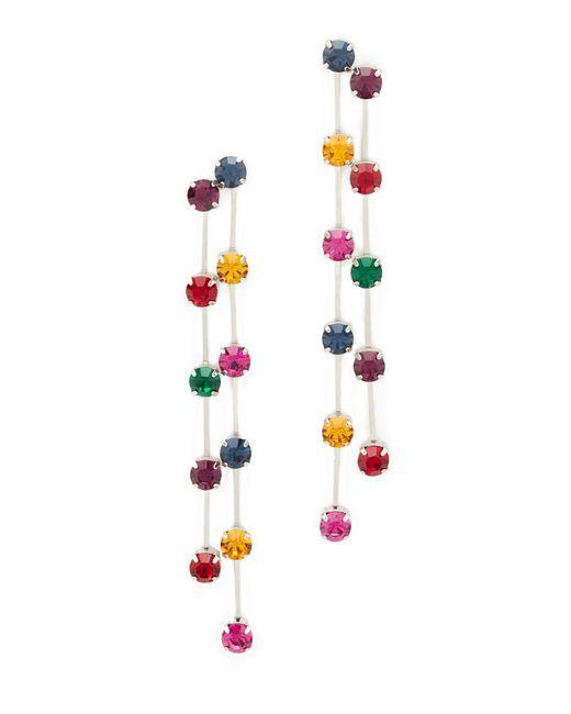 Kenneth Jay Lane   Multicolor Multi Drop Earrings   Lyst
