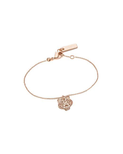 KENZO | Pink Mini Tiger Bracelet | Lyst