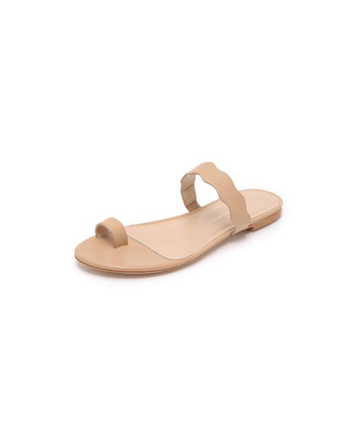 Loeffler Randall | Natural Petal Toe Ring Sandals | Lyst