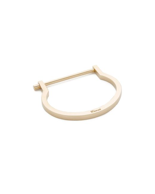 Miansai | Metallic Modern Screw Cuff | Lyst
