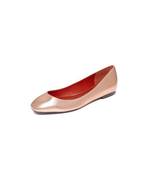 3.1 Phillip Lim | Multicolor Square Toe Ballet Flats | Lyst