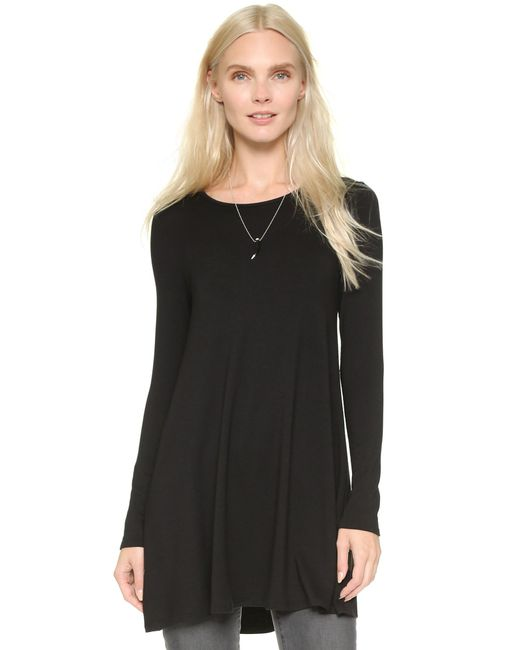 Riller & Fount | Black Adelaide A Line Tunic | Lyst