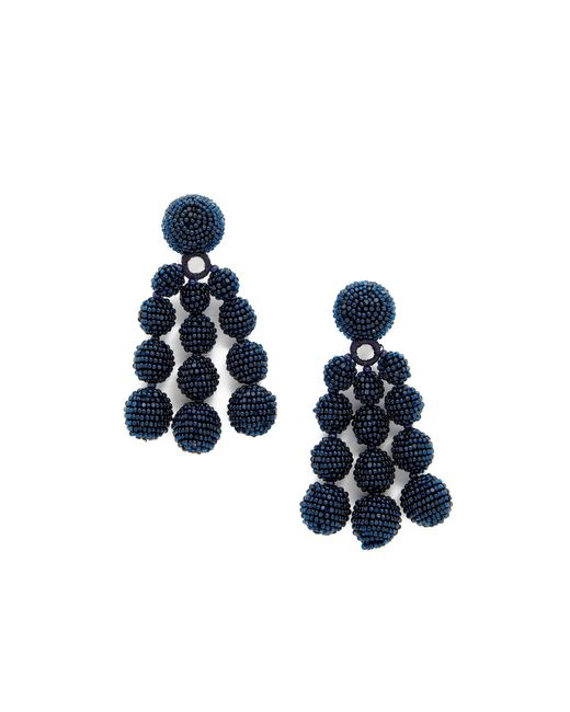 Sachin & Babi | Blue Trinity Clip On Earrings | Lyst