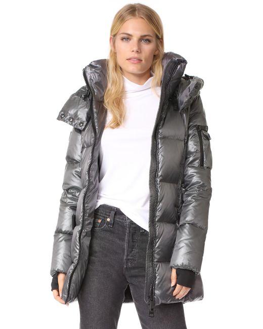 Sam. | Gray Soho Shaped Jacket | Lyst