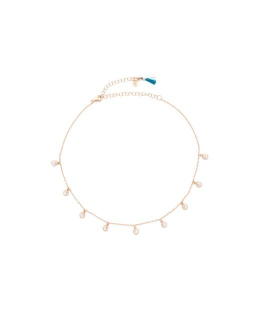 Shashi | Multicolor Solitaire Drop Choker Necklace | Lyst