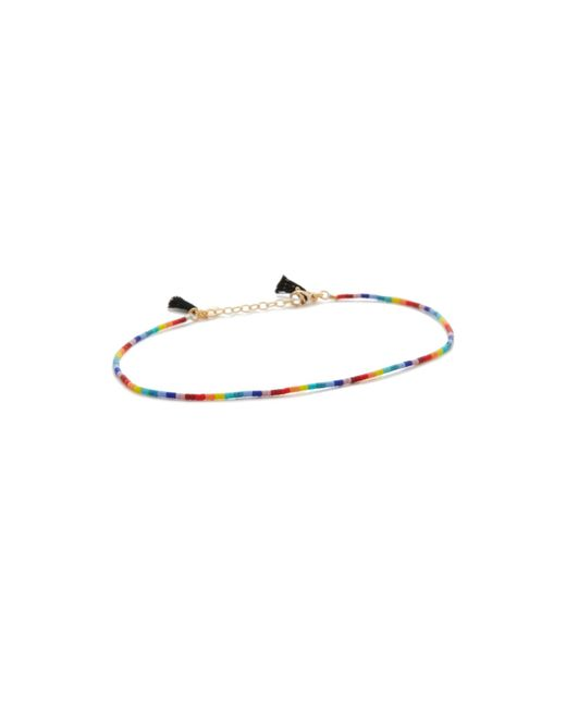 Shashi | Multicolor Lily Anklet | Lyst