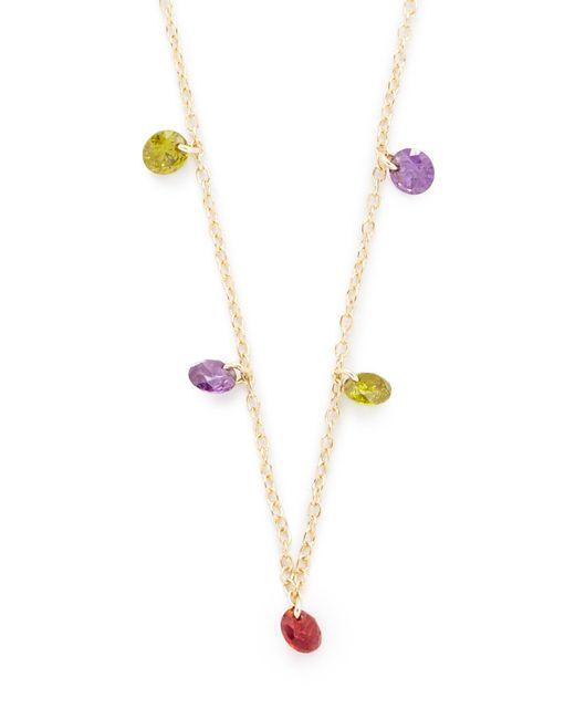 Shashi | Metallic Millie Necklace | Lyst