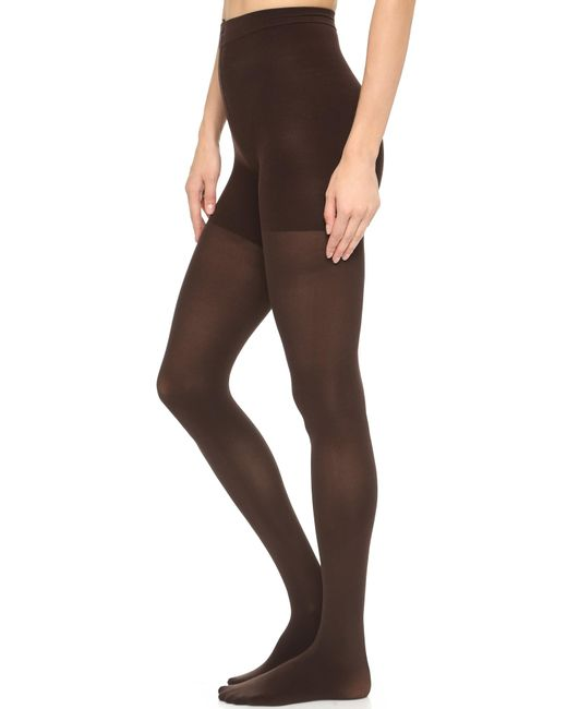 Spanx | Brown Luxe Leg Tights | Lyst