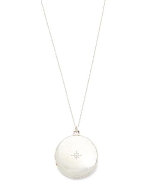 Sasha Samuel | Metallic Single Star Round Locket Necklace | Lyst