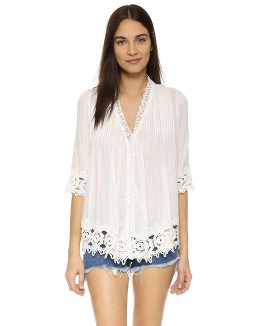 Tiare Hawaii | White Belle Mare Kimono | Lyst