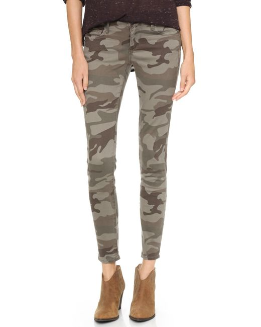 true religion casey camo skinny jeans in green lyst. Black Bedroom Furniture Sets. Home Design Ideas