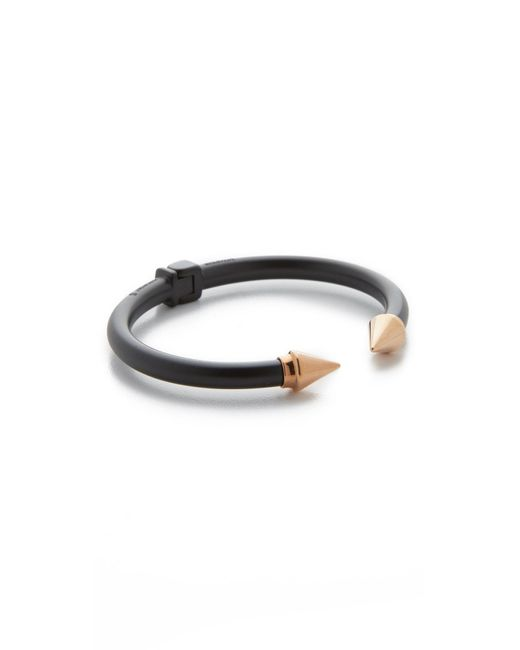 Vita Fede | Black Mini Titan Two Tone Bracelet | Lyst