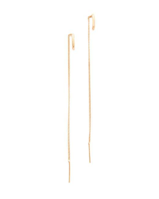 Vita Fede | Multicolor Luna Thread Earrings | Lyst