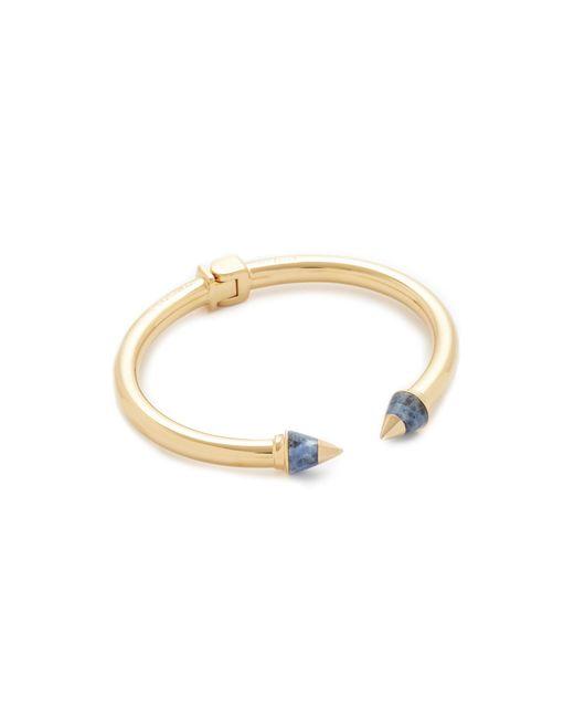 Vita Fede   Metallic Mini Titan Metal Tip Stone Bracelet   Lyst