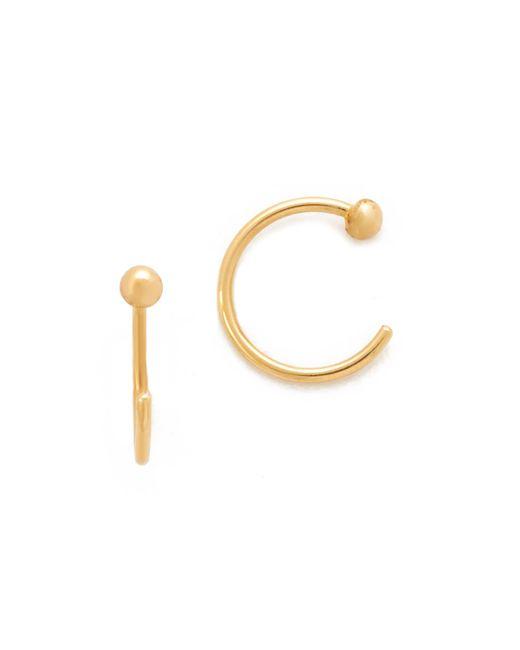 Zoe Chicco | Metallic Reversible Earrings | Lyst