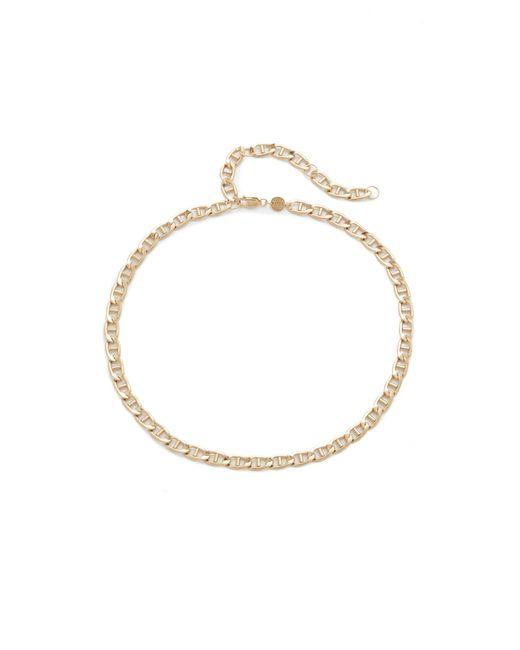 Jennifer Zeuner | Metallic Jayne Chain Choker Necklace | Lyst