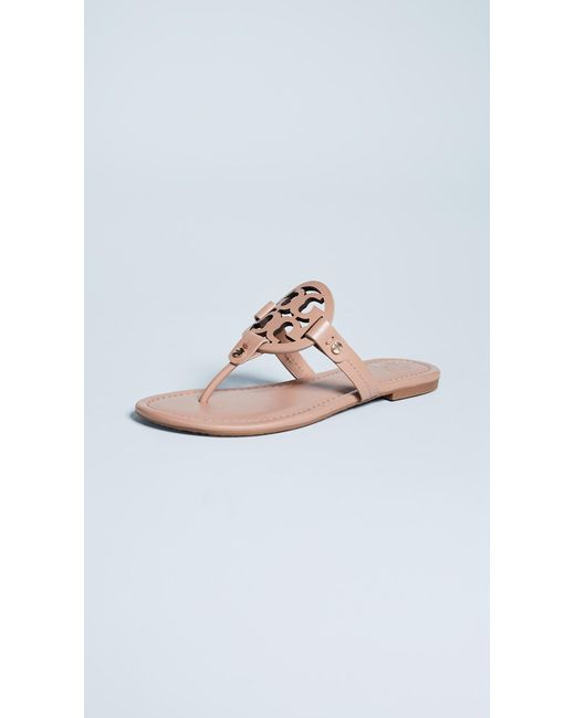 1207e243d0906 Tory Burch - Multicolor Women s Miller Thong Sandals - Lyst ...