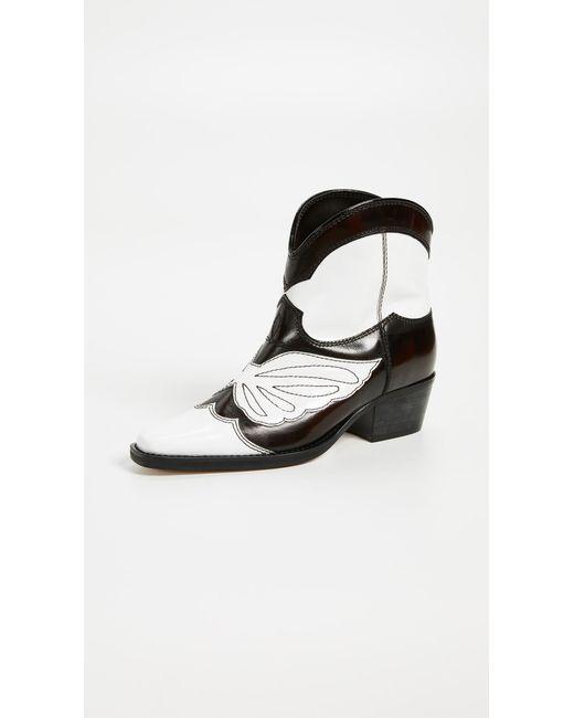 Ganni - Multicolor Meg Boots - Lyst