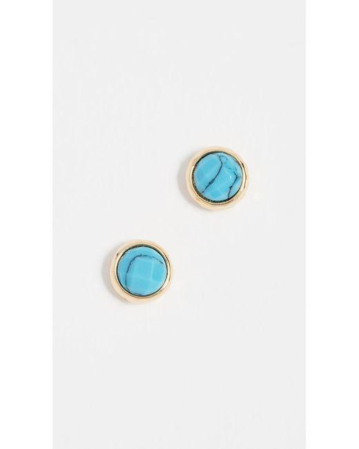 Gorjana - Blue Power Gemstone Stud Earrings - Lyst