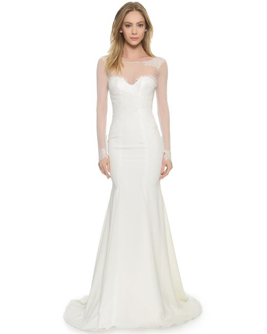 Katie May | White Verona Gown | Lyst