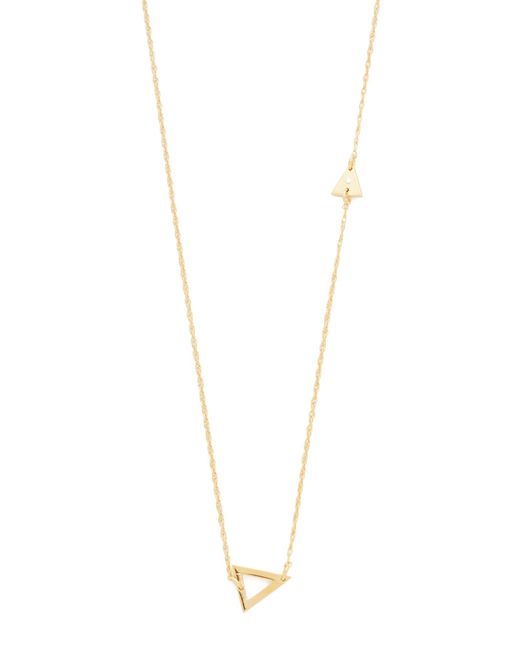 Jennifer Zeuner | Metallic Sasha Diamond Necklace | Lyst