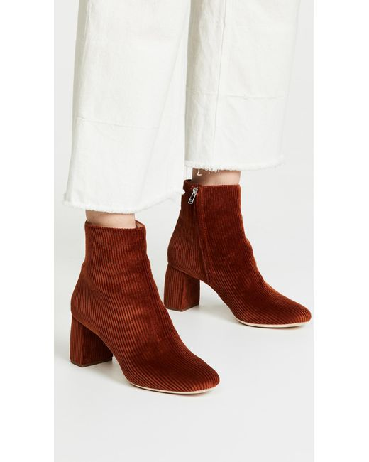 In Lyst Loeffler Brown Booties Randall Save Cooper 60 0 wvgFqIxv