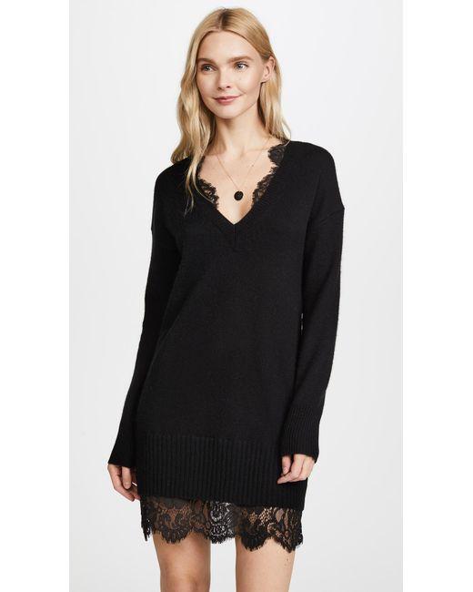 Brochu Walker - Black Lace Looker Dress - Lyst ... 9e82a4bdd