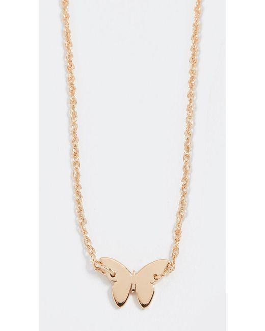 Jennifer Zeuner - Metallic Mariah Mini Necklace - Lyst