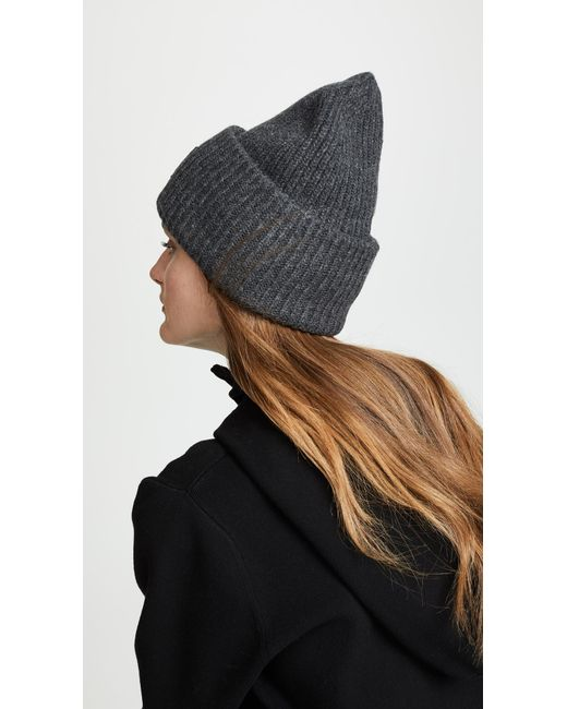 d39f757f699962 Acne Studios Pansy N Face Hat in Gray - Lyst