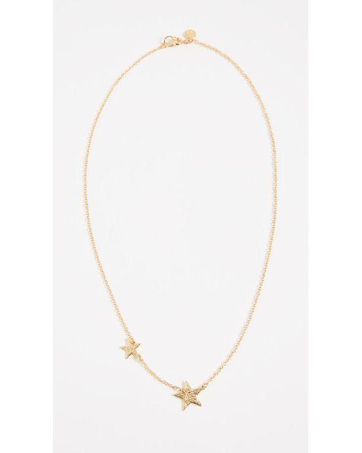 Gorjana - Metallic Super Star Necklace - Lyst
