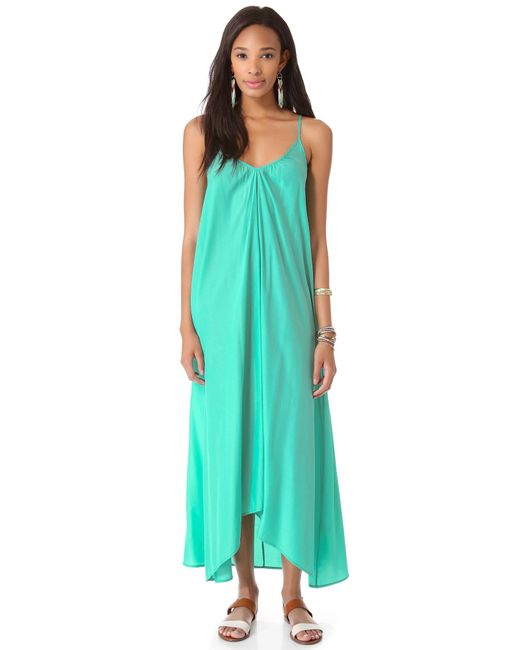 Pink Stitch | Green Resort Maxi Dress | Lyst