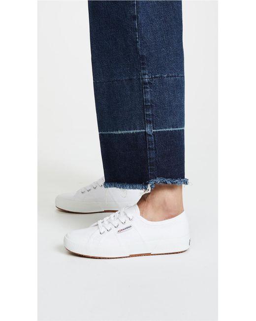 b7a23969c3b3c Superga 2750 Cotu Classic Sneakers in White - Save 51% - Lyst