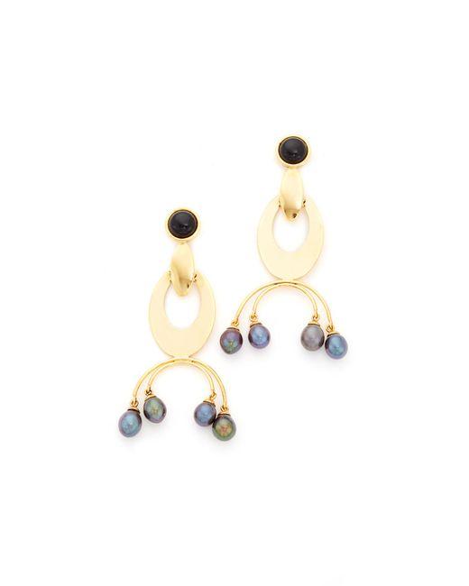 Lizzie Fortunato | Metallic Gazelle Earrings | Lyst