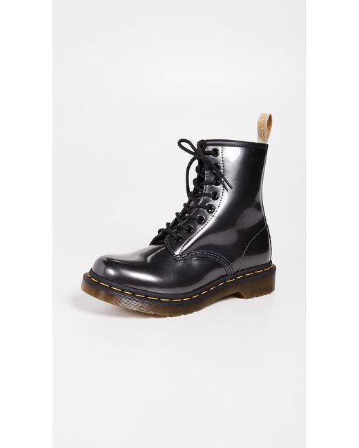 Dr. Martens - Black 1460 Vegan Chrome 8 Eye Boots - Lyst