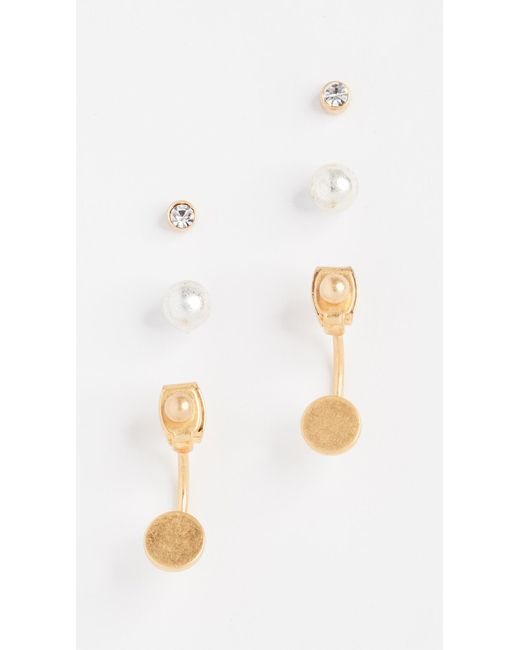 Madewell   Multicolor Front-back Stud Earring Set   Lyst