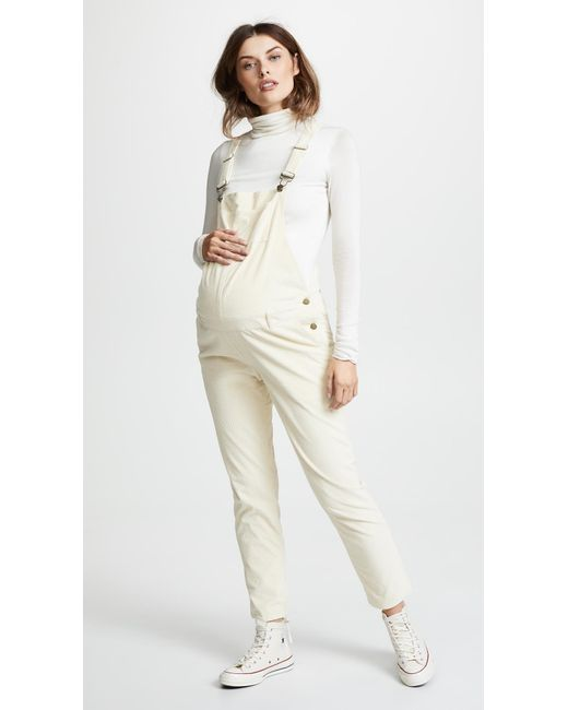 155c0fe1d982 HATCH - White Cord Overalls - Lyst ...