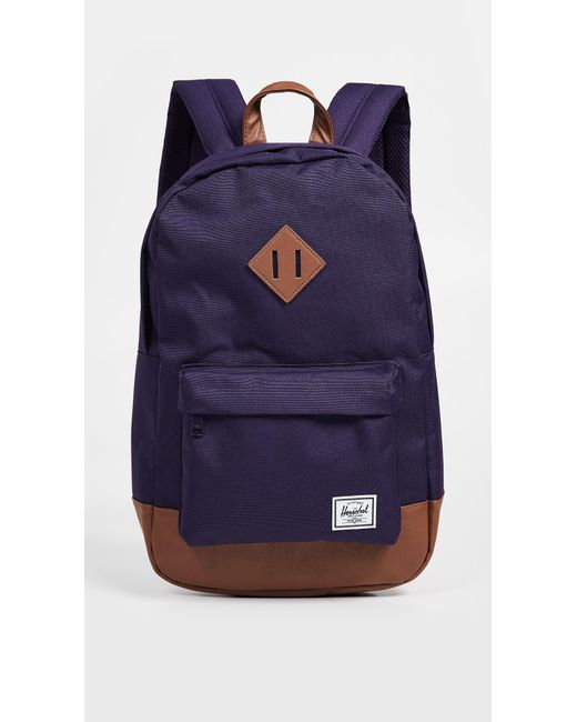 Herschel Supply Co. Heritage Mid Volume Backpack in Purple - Save ... 6b9d243fffe19