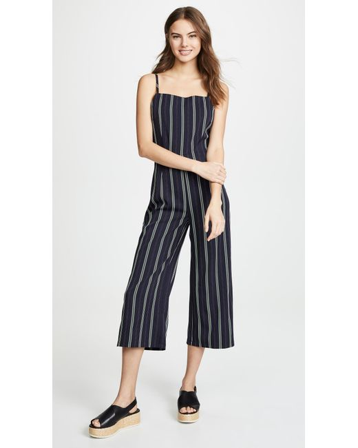 78a432fbfe86 Cupcakes And Cashmere - Blue Avery Jumpsuit - Lyst ...