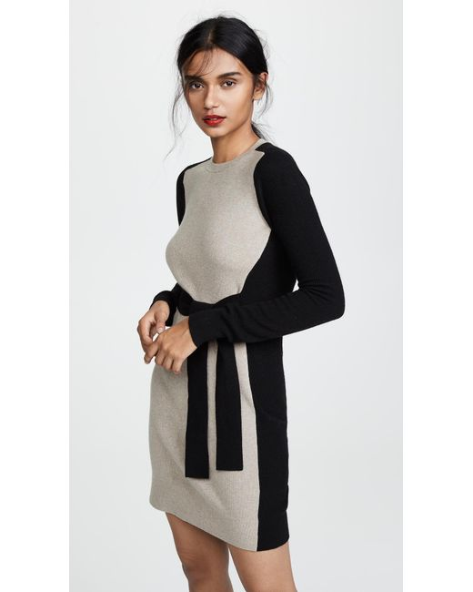 Club Monaco - Black Arnettie Dress - Lyst
