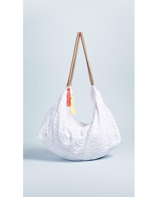 Pilyq - White Allison Lace Bag - Lyst