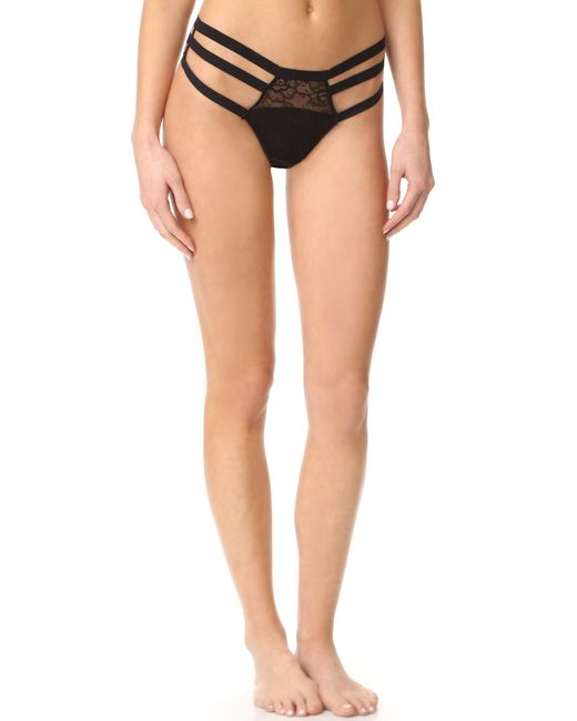 Honeydew Intimates | Black Blair Lace Thong | Lyst