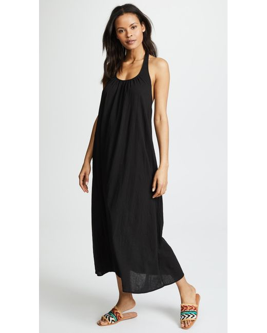 9seed - Black Antigua Cover Up Dress - Lyst
